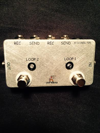 (B) 2 Looper Effect Switcher (LED Version)