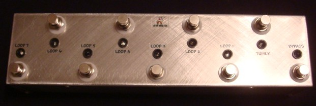 7 Looper w/Tuner Out & Master Bypass (STAG)