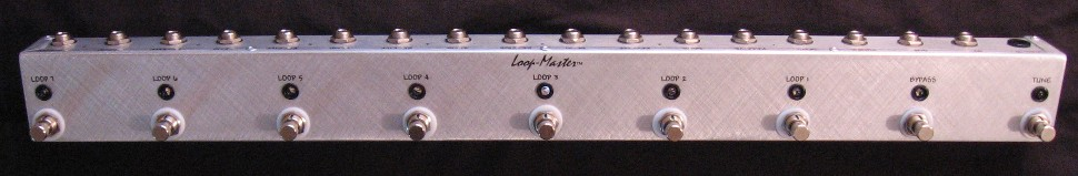 7 Looper w/Tuner Out & Master Bypass