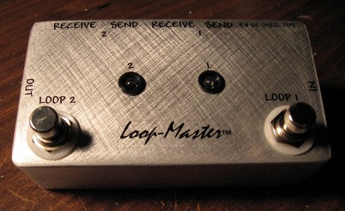 2 Looper Effect Switcher (LED Version)
