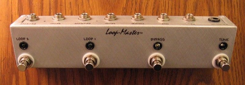 2 Looper w/Tuner Out & Master Bypass (Strip)