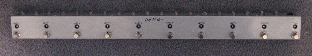 8 Looper w/Master Bypass & Tuner Out