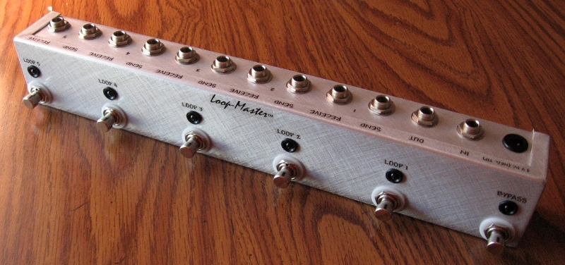 5 Looper w/Master Bypass (Strip)