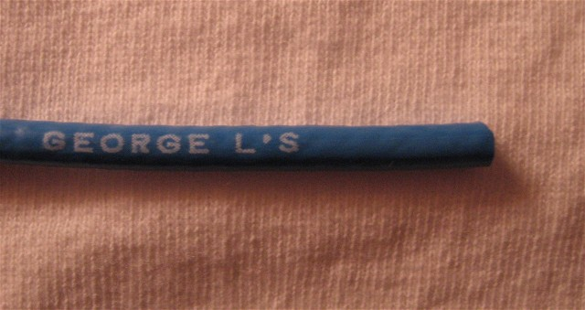 George L\'s .155 Cable (Blue)