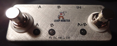 Micro ABY Box (LED Version) - Loop-Master Pedals