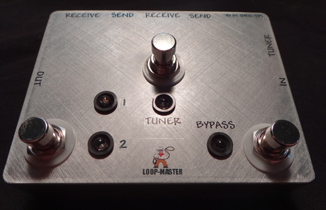 Clean/Dirty Effects Switcher™ w/Tuner Out and Master Bypass