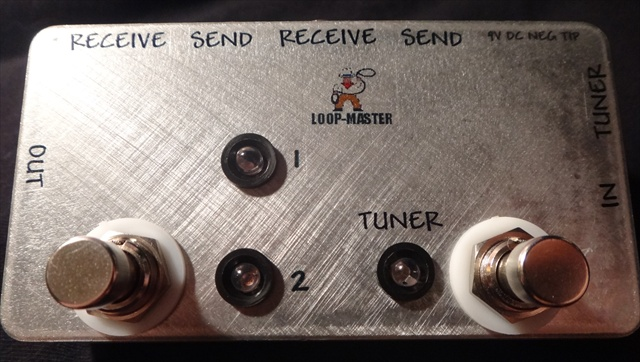 Clean/Dirty Effects Switcher™ w/Tuner Out