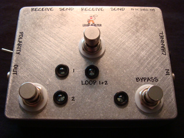 Clean/Dirty/Channel Switcher™w/Combinable Loops