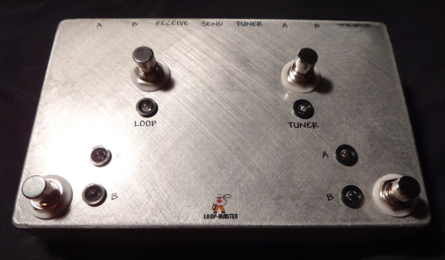 1 Looper w/Tuner Out & A/B Outputs & Inputs